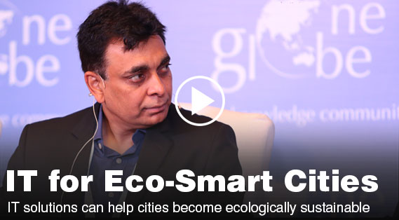 IT solutions can help cities become ecologically sustainable