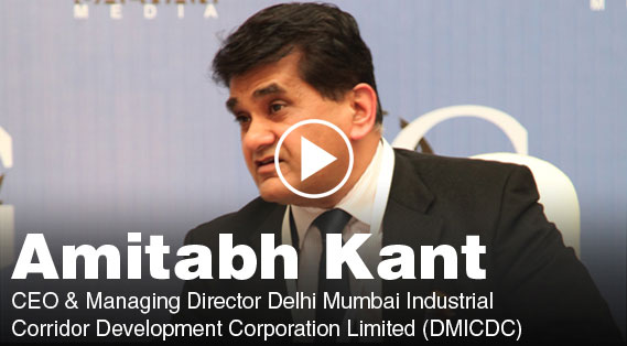 amitabh kant smart cities and economic corridors