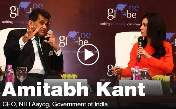 Amitabh Kant In-Conversation with Shereen Bhan on Make in India at One Globe