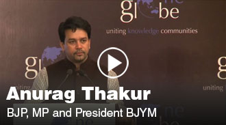 Anurag Thakur at one globe conference