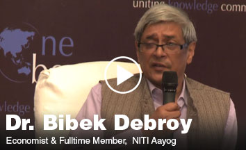 Dr. Bibek Debroy Speaking about