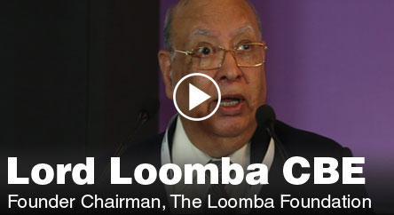 lord loomba discussion on philanthropy and education at one globe 2012