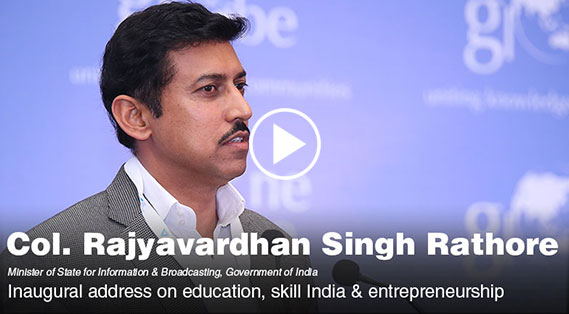 Rajyavardhan Singh Rathore on education, skill India & entrepreneurship