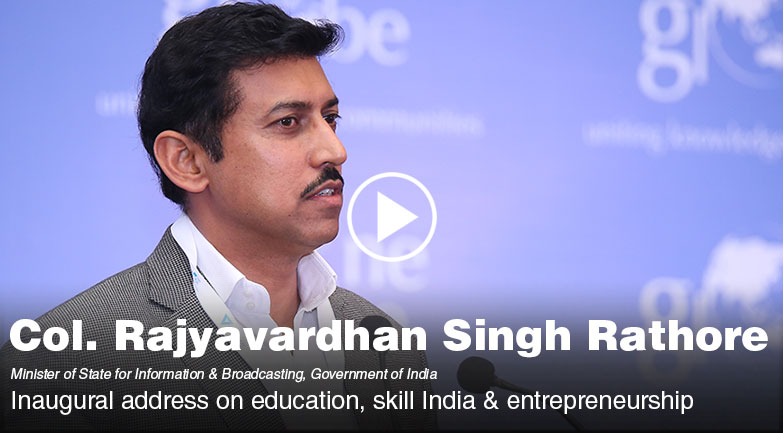 Inaugural address by Rajyavardhan Singh Rathore on education, skill India & entrepreneurship