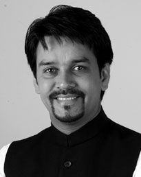 Anurag Thakur Chairman of India's Parliamentary Committee on IT
