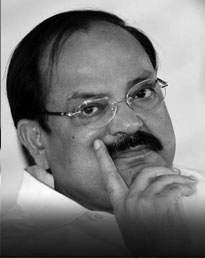 Venkaiah Naidu Minister of Urban Development & Parliamentary Affairs