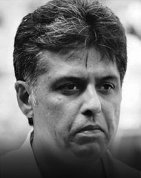 Manish Tewari* Former Minister of State, Information & Broadcasting