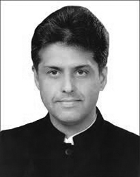 Manish Tewari Minister of State for Information and Broadcasting