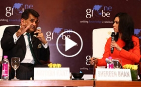 Amitabh Kant In-Conversation with Shereen Bhan on Make in India at One Globe Conference