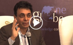 Purushottam Kaushik of Cisco at One Globe Conference on Making Indian Cities Smarter
