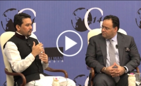 Q&A Session with Anurag Thakur, BJP, MP and President BJYM at OG2014