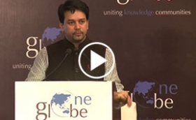 Keynote Address by Anurag Thakur, MP on Making India a Global Knowledge Hub at One Globe